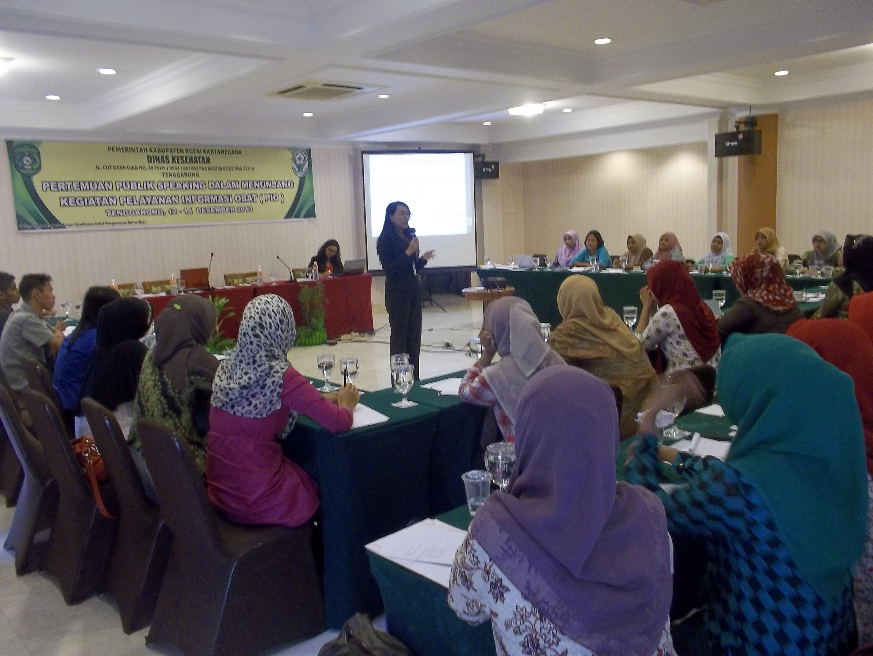 Pelatihan Public Speaking Tenaga Layanan Kesehatan
